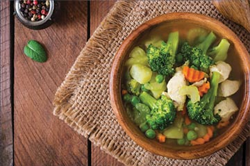 Broccoli, Carrot & Potato Soup